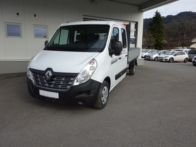 Renault Master Fahrgestell L3H1 Doka Energy dCi EU6 bei BM || Autohaus Walter Malin GmbH in