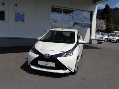 Toyota Aygo 1,0 VVT-i x-play bei BM    Autohaus Walter Malin GmbH in
